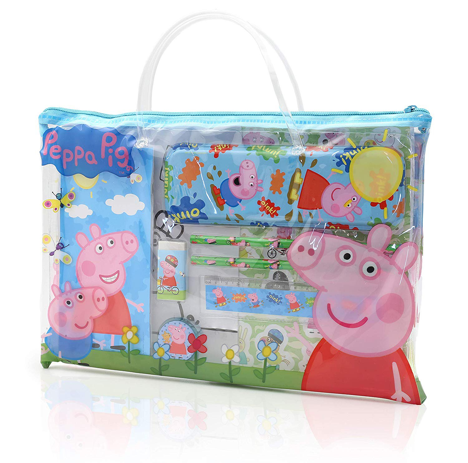 Peppa Pig Toys, Activity Travel Set Includes Carry Along Book Bag