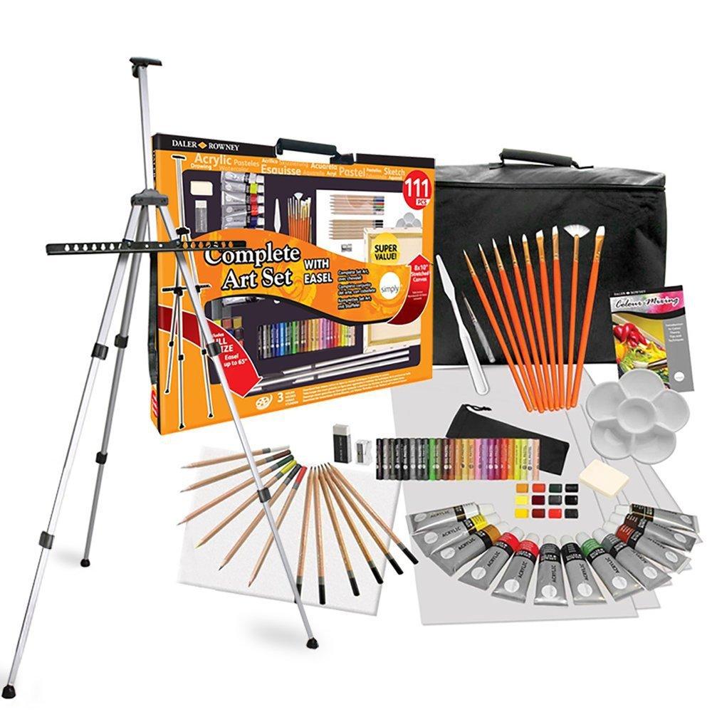 Daler Rowney 111 Piece All Media Art Studio Paint Set