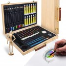 Artina Leonardo 45 pcs Artist Set Art Storage Case