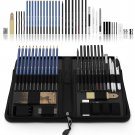 Castle Art Supplies 40 Piece Sketching Pencils and Drawing Set