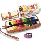 Coloured Colouring Pencils Set 36, Covacure Portable Travel Colour Pencils