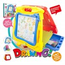 Large Kids Magnetic Easel, Double Sided Magnetic Drawing Board, Kids Magnentic Drawing Doodle Board
