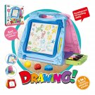 Large Kids Magnetic Easel, Double Sided Magnetic Drawing Board, Kids