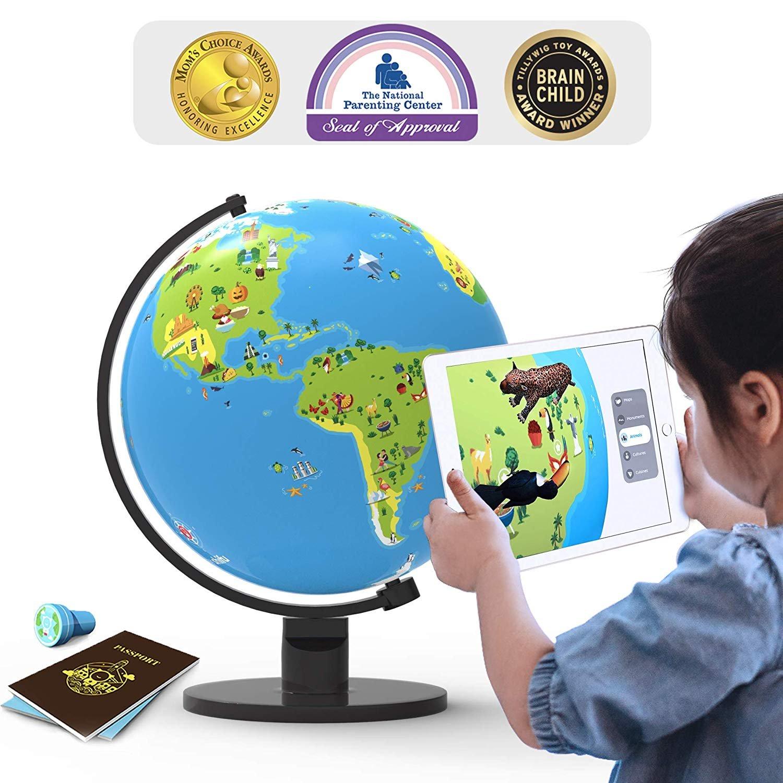 Shifu Orboot: The Educational, Augmented Reality Based Globe |