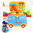 Play Kitchen Food Car Role Play Toys Kids Cooking set Pots and Pans