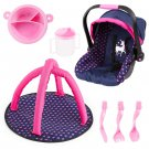 Set, Doll's car seat, Play Gym and Plastic Accessories