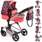 18405AA Stroller, Doll Combi Pram Neo Vario with Changing Bag