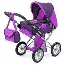13612AA City Star Doll's Pram, Purple