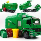 Children Garbage Truck Kids Toys Inertia Sanitation Truck with Garbage Cans Vehicle
