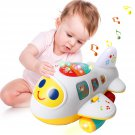 Baby Toys Electronic Airplane Toys with Lights & Music ,Best Kids Early Learning Educational Toys