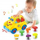 Musical Car Toy Fruit Shape Early Education 6-18 mouths Baby