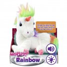 Animagic Rainbow - My Glowing Unicorn, a Soft Unicorn Plush Toy with Glowing Horn and Unicorn Sounds