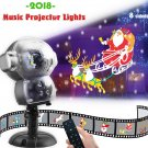 Snow Falling Animated Projector Outdoor Halloween Christmas Decorations LED Projection