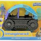 Imaginext DC Super Friends Batman Mr Freeze Snowcat Vehicle Figure Toy