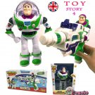 2019 Toy Story 4 Buzz Lightyear Action Figure With BOX+Light Walking Toy Gun
