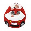 Racing Car Gaga+ Baby to Junior Beanbag (Red)