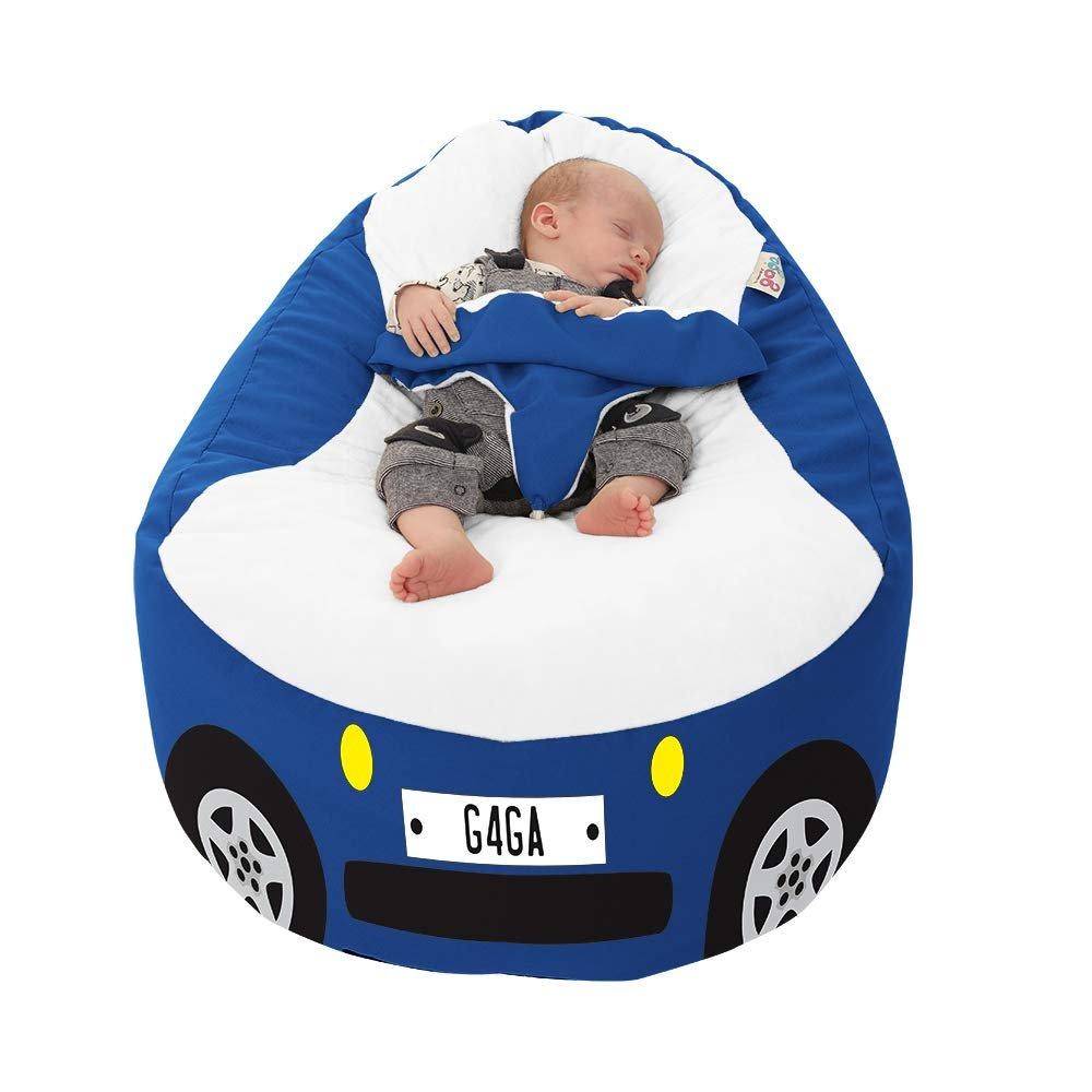 Racing Car Gaga+ Baby to Junior Beanbag (Royal Blue)