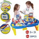 KIDS DOCTOR NURSE CARRY CASE MEDICAL KIT ROLE PLAY TOYS XMAS ACCESSORY GIFT SET
