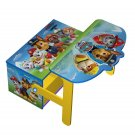 Paw Patrol Wooden Kids 3 in 1 Convertible Toy Box + Bench & Table + Chair