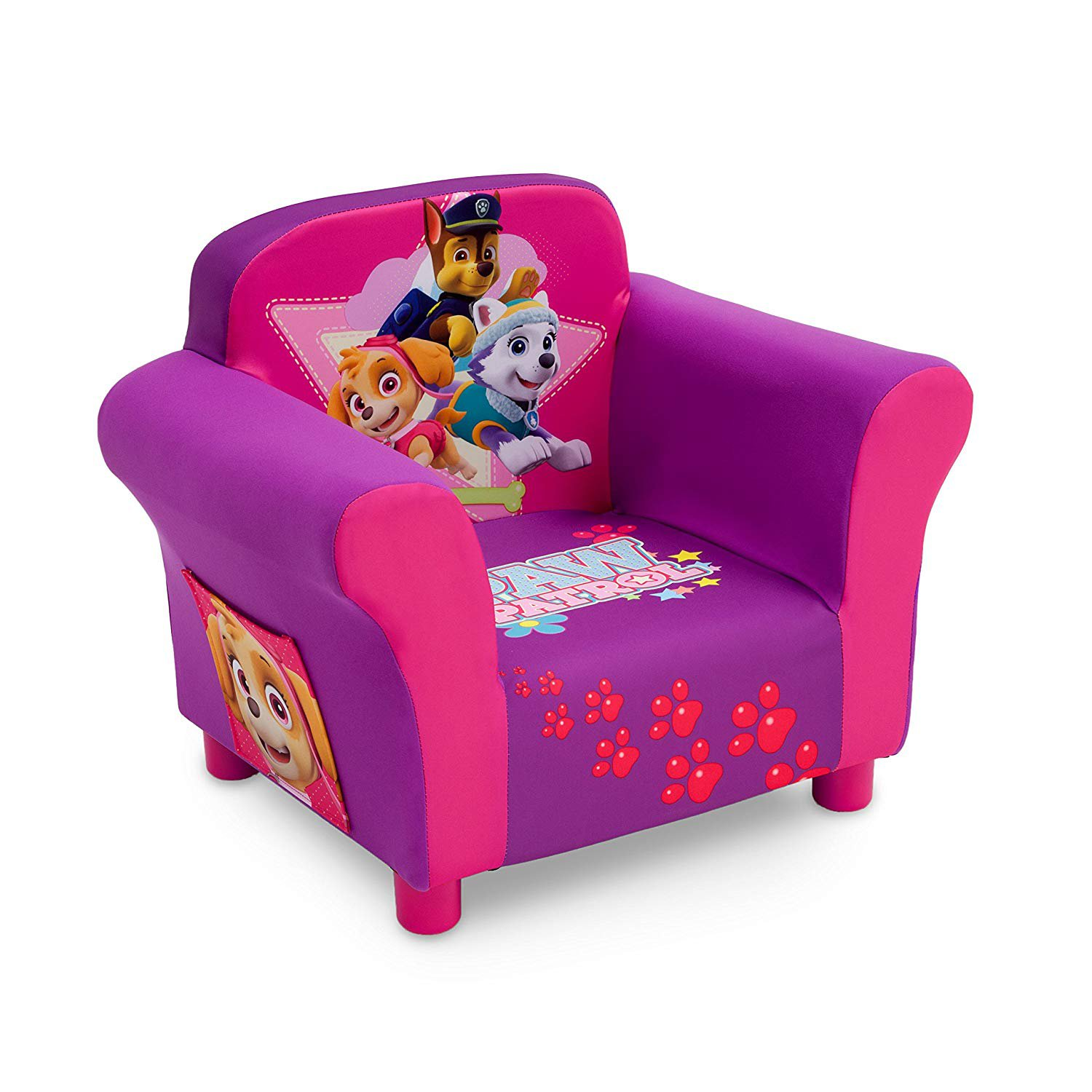 Paw Patrol Childrens Upholstered Chair