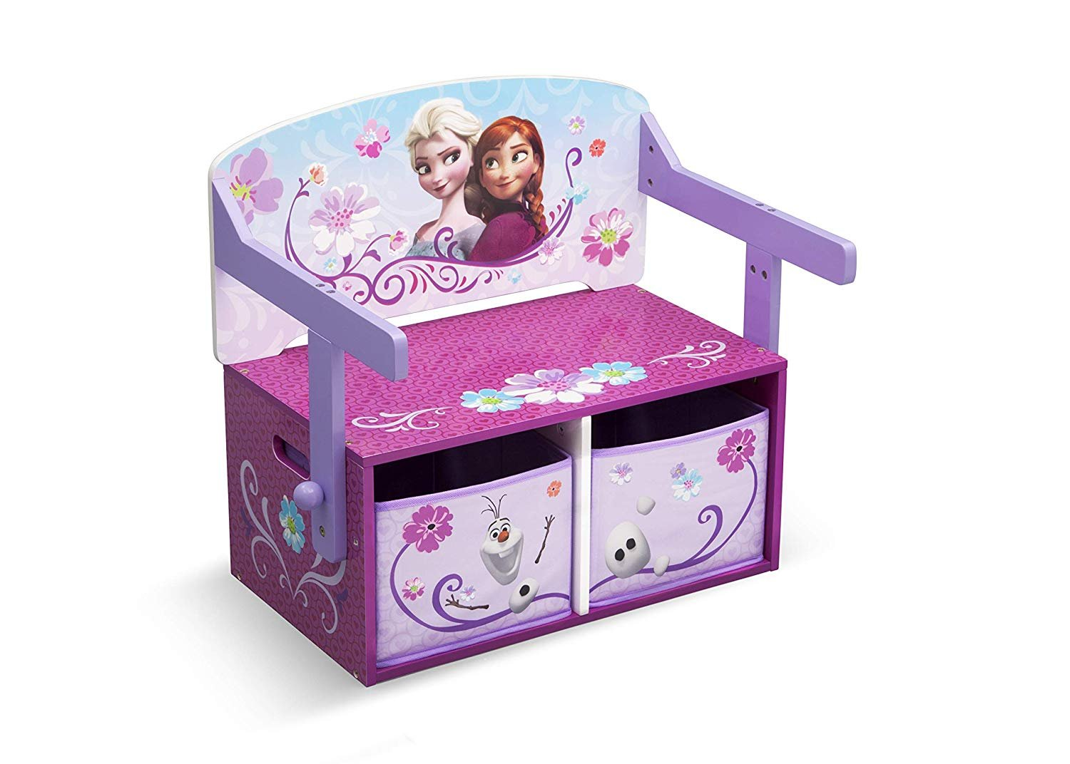 Disney Frozen 3 in 1 Storage Bench and Desk