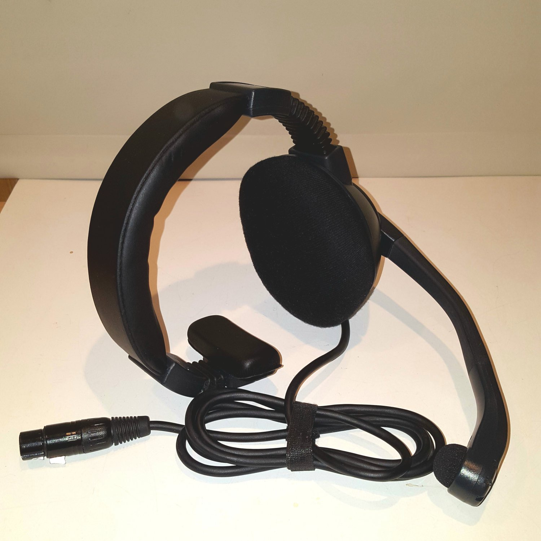 Clear-Com CC-95-X4 Single Ear Intercomm Headset 4 Pin XLR F Female Headphone