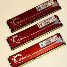 G.SKILL 6GB Kit (3 X 2GB) PC3-12800 non-ECC Unbuffered RAM | F3-12800CL9T-6GBNQ
