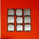 Lot of (9) Intel CPU PC Processors: Core i3-4130 i5-4570 i5-2400 i5-750(3) i5-650 i5-2310 i5-2500