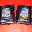 Lot of 2 Hard Drives  HP 460850-001 72-GB 3G 10K 2.5 DP SAS HDD DG072BABCE