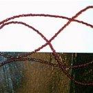 Red Glass Beaded Eyeglass Chain Leash Holder 24 in