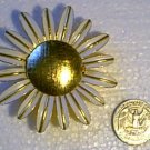 Avon Daisy Pin w Perfume Locket Compartment