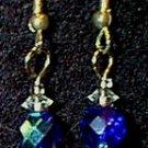 Swarovski Crystal & Czeck Glass Beaded Wire Earrings
