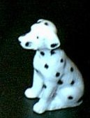 Dalmation Firehouse Dog Bug House Bone China