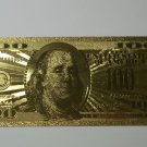 $100 Bill .999 24k Gold 3.98 Grams