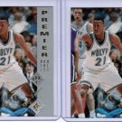 Lot of 2 1995 SP Authentic Kevin Garnett #159 Rookie NMMT