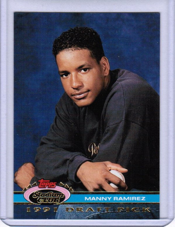 1991 Stadium Club Manny Ramirez #146 Rookie MINT