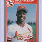 1985 Fleer Update Vince Coleman #U28 Rookie NMMT