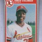 1985 Fleer Update Vince Coleman #U28 Rookie NRMT
