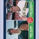 1986 Fleer Jose Canseco #649 Rookie NM+