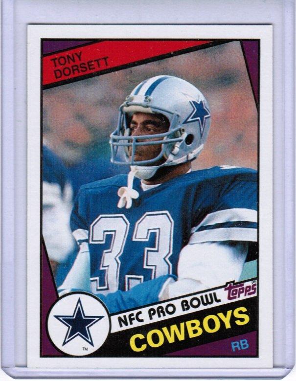 1984 Topps Tony Dorsett #298 NM+