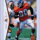 1995 SP Authentic Terrell Davis #130 Rookie MINT