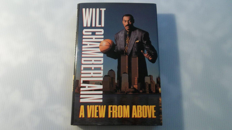 Wilt Chamberlain NBA HOF Signed Hardcover Book Rare Inscription