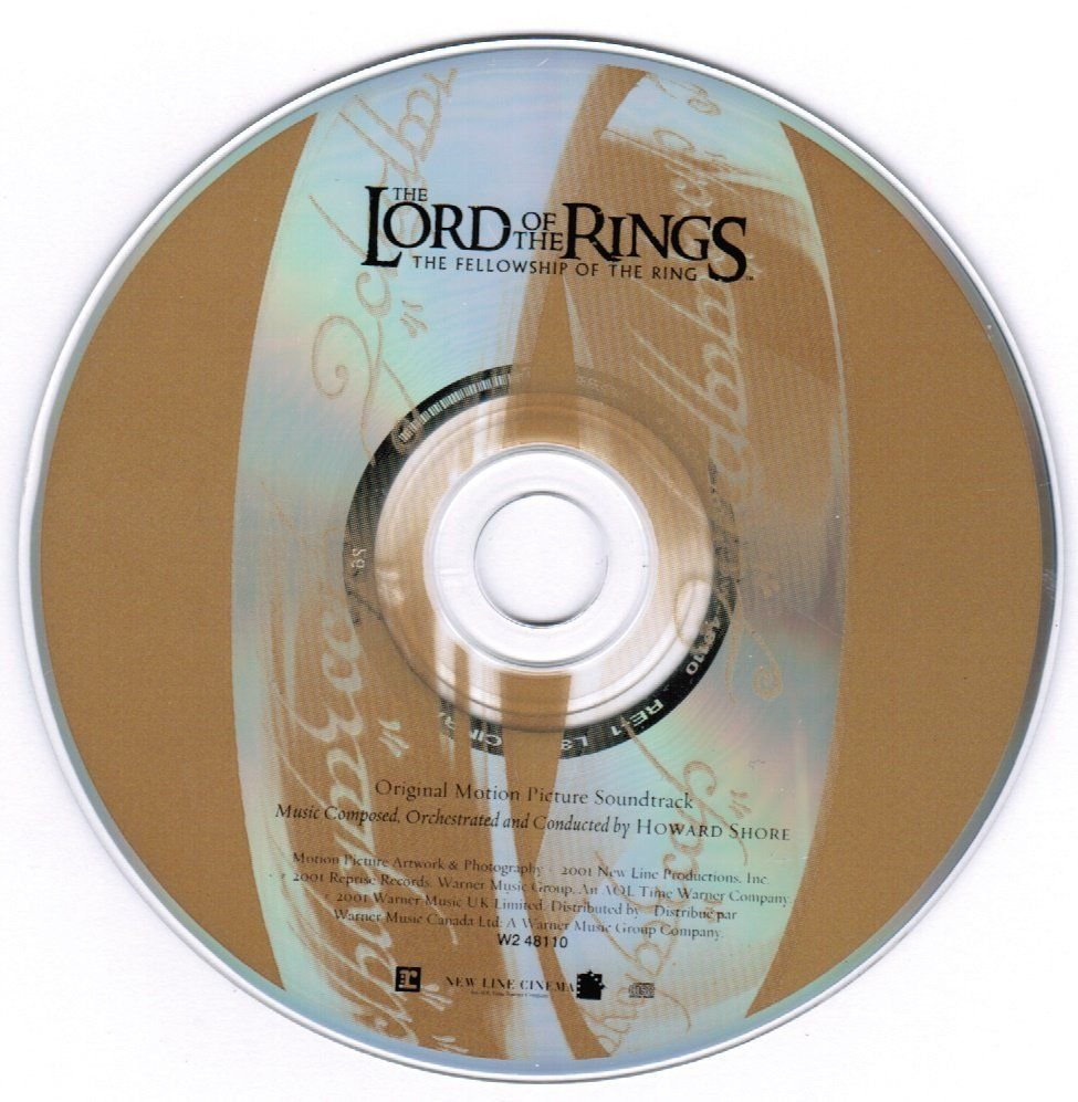 The Lord of the Rings The Fellowship of the Ring CD Motion Picture Soundtrack