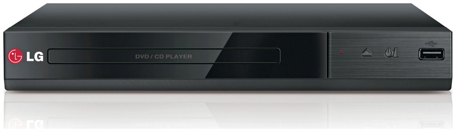 LG DVD Player With USB Direct Playback DP132