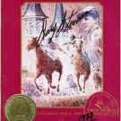 1995 Kentucky Derby Horse Racing Program Signed by Gary Stevens #'d 1977/2000