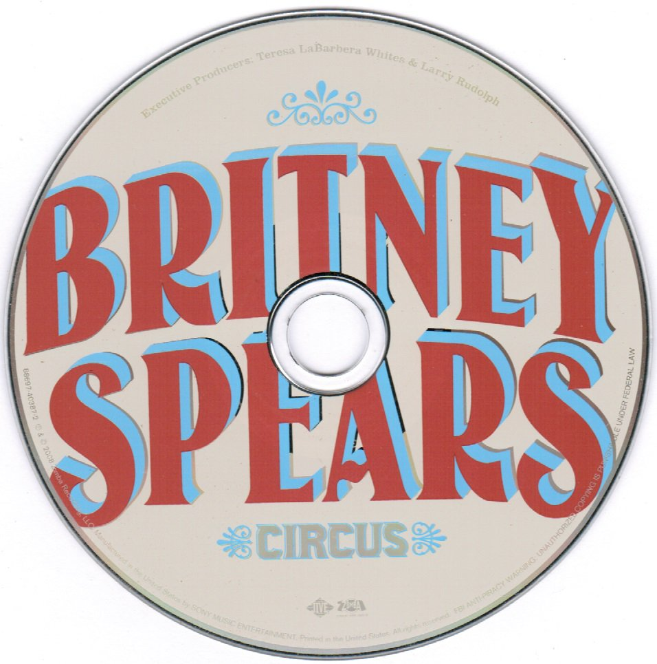 Britney Spears Circus CD