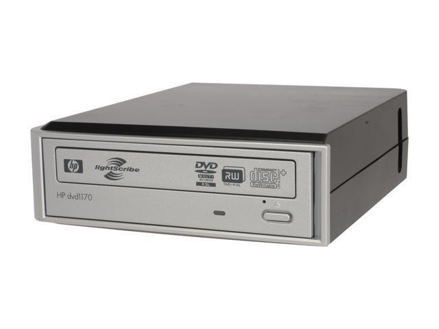 HP DVD1170 External CD/DVD Burner Lightscribe Writer