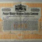 Vintage Original 1926 Piggly Wiggly Stock Certificate
