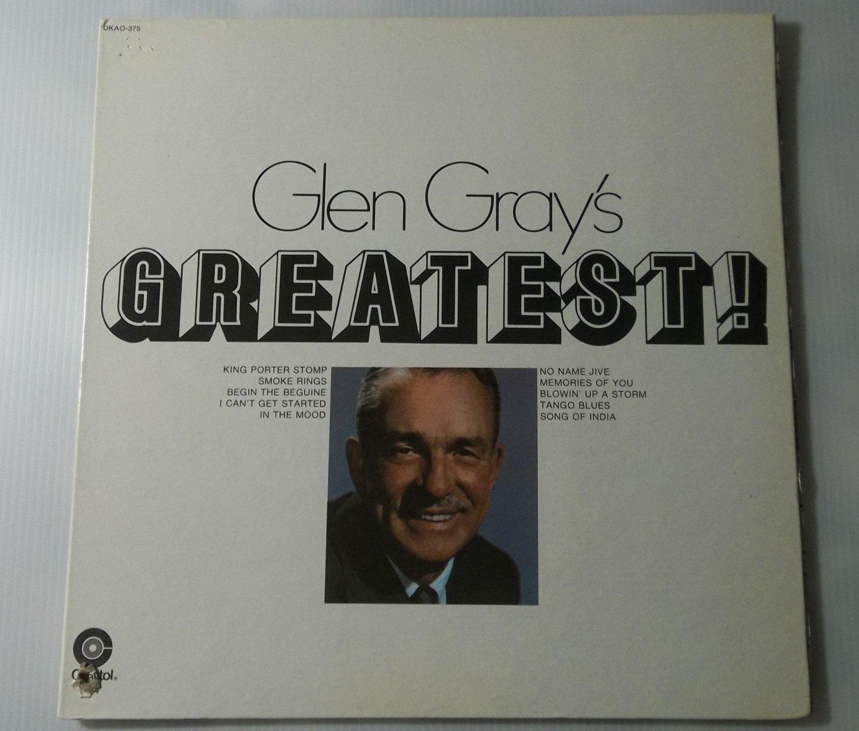 Glen Gray's Greatest Hits Vinyl Full Length LP Record Starline Jazz
