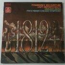 Tchaikovsky 1812 Overture Liszt Fritz Reiner Chicago Symphony Vinyl Full Length LP Record RCA